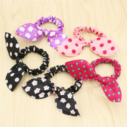 Jmyy Jewelry New Hair Accessories Rabbit Ears Elastic Hair Rubber Bands For Women Holder Hair Jewelry