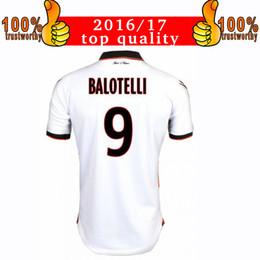 Wholesale 2017 Balotelli Away White Jerseys OGC Nice French League soccer Soccer Jersey Balotelli Nice Thai Quality Football Shirts
