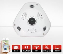 960P WIFI Wireless IP Camera HD H.264 Smart 360 Degree Panoramic VR CCTV Security Camera Home Protection Surveillance