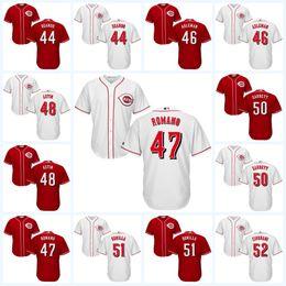 Wholesale 2017 Cincinnati Reds Custom Jersey Nefi Ogand Tony Cingrani Lisalverto Bonilla Barrett Astin Amir Garrett Cool Base Jersey