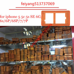 For iphone 5 5c 5s 6 6s 6p 6sP 7 7p Plus High quality refurbishment mould mold lcd display touch screen repair holder