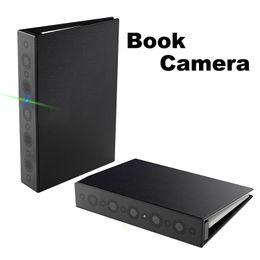 Promotion livres vidéo HD Spy Home Security Book Caméra Super Night Vision Motion Activated Détection Enregistrement vidéo Caméscope Spy caché Dvr Covert Nanny Cam
