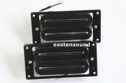 Wholesale ONE SET HIGH OUTPUT BLADE HUMBUCKER GUITAR PICKUP INCLUDE PICKUP RING