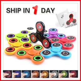 Tri Spinner Fidget Toy Fidget Spinner Hand spinner Prime Fidget Spinners Handspinner Fingertips EDC Colorful Bearings Finger Spinning top