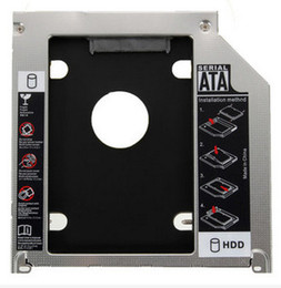 Wholesale Apple MacBook Pro A1278 A1286 A1297 nd mm SATA HDD SSD Caddy Adapter Bay