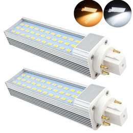 Wholesale GX24Q Pin Rotatable LED PLC Lamp W W CFL Replacement LED GX24 Harizontal Recessed Down Light G24Q Lamp Remove Ballast