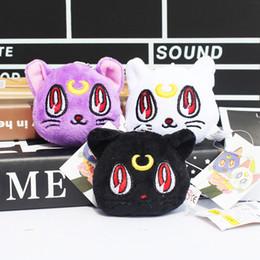 Wholesale Grossiste Sailor lune Luna Chat Peluche Poupée Jouets Anime Stuffed Manga cadeau CM Free shpping