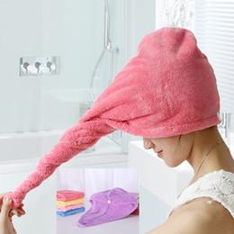 2017 cheveux amicale Quick-Dry Hair Towel Caps La meilleure qualité Magic Forte d'eau absorbant cachemire microfibre sèche cheveux serviette Wrap baignade PX-T03 cheveux amicale sortie