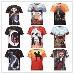 Wholesale 2017 New medusa stlye Hot Sale Summer Best DSQ Short T shirt Men T Shirt Tops Top Quality Clothes Black Fast Shipping