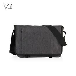 Wholesale VN Designer Briefcase Men Messenger Bags Vintage Canvas Shoulder Bag Mens Buisness Bag Attache Laptop Case Office Briefcase