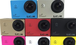 Wholesale Sports Action Video Cameras SJCAM Waterproof Sports Camera HD K aerial camera SJ4000PLUS outdoor driving recorder