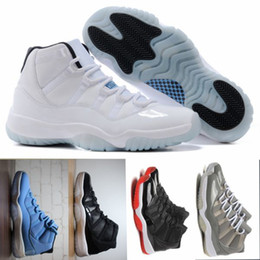 Promotion chaussures de sport pas cher Vente en gros Legend Blue Basketball Shoes (11) XI Bonne qualité Hommes Chaussures de sport Femmes Chaussures de sport Athletics Boots Retro 11 XI Sneakers Cheap