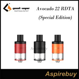 Wholesale GeekVape Avocado RDTA Special Edition ML Tank features Larger Deck and Post Holes Side Juice Fill Port Premium Matte Finish Colors
