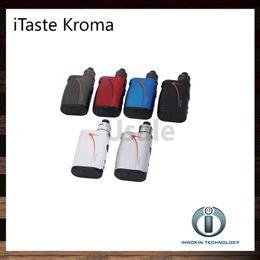 Wholesale Innokin iTaste Kroma Kit With W Kroma Mod mah Battery Slipstream RDA Tank Complete Temperature Control Vape System Original