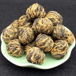 Samples for Black Tea 50g Dragon Pearl Handade Dianhong Black Tea