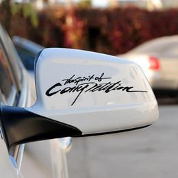 Rápido y furioso espejo de coche post sticekrs coche espejo retrovisor carácter individual pegatinas decorativas pegatinas de coches al por mayor desde coche espejo decorativo fabricantes