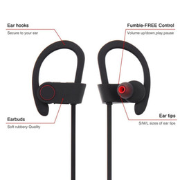 Wholesale Q6 Bluetooth Sports Running Headphone Stereo Wireless Headset With Mic Handfree For Iphone Android Phones MP3 Music Player