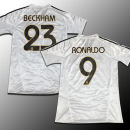Wholesale Real Madrid jersey season restoring ancient ways David Beckham zinedine zidane ronaldo raul