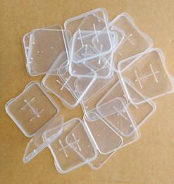 100 Pcs PP Plastic TF 1GB 2GB 4GB 8GB Micro SD Memory Card Cases Box