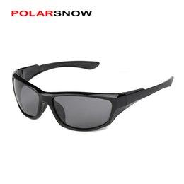 Compra Online Una visión superior-Wholesale-POLARSNOW se divierte la gafas de sol de la pesca para los hombres Gafas al aire libre del diseñador de la marca de fábrica Gafas de sol masculinas de los vidrios de calidad superior de la vendimia