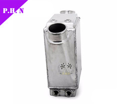 Wholesale 15 quot x quot x quot Inlet Outlet quot INLET WATER TO AIR FRONT MOUNT ALUMINUM TURBO INTERCOOLER x200x110mm In Outlet