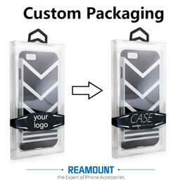 50 pcs PVC packaging box for phone accessories customize logo on packaging for phone case for iPhone 7 7 plus free shipping