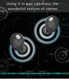 Wholesale Best stereo deep bass great quality funny hot professional earpiece bluetooth V4 with working range m for smartphone