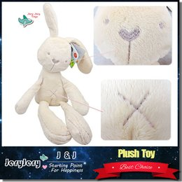 Wholesale Cute Rabbit Bunny Baby Soft Plush Toys Mini Stuffed Animals Kids Baby Toys Smooth Obedient Sleeping Rabbit Doll
