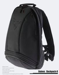 Free Shipping Wholesale Black Motocross Backpack Moto bag Waterproof backpack reflective helmet bag motorcycle racing backpack