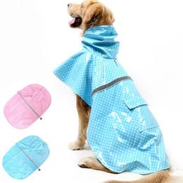 Fuentes del perro muelles en Línea-Hot Selling perro impermeable Pet Puppy Hoodie ropa ropa interior reflectante abrigo de lluvia Primavera y el estilo de verano Pet Dog suministros JJ0162