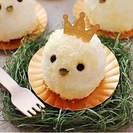 Venta al por mayor 50PCS princesa princesa Cupcake Cake Topper Cake Stand Selecciona Decoración de cumpleaños de la fiesta de bienvenida Decoración de pastel de boda desde magdalena de bienvenida al bebé de la princesa fabricantes