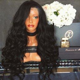 9A Pre Plucked Human Hair Wigs For Black Women Loose Wave Brazilian Virgin Full Lace Wigs With Baby Hair Lace Front Wig