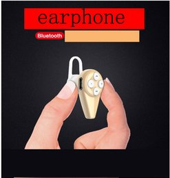 Wholesale Sound Blazer A2 Mini Bluetooth Headset Ultra small stealth earphone style voice activated wireless Stereo Universal