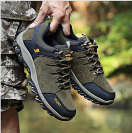2017 new sports men leisure running travel hiking shoes anti-skid wear-resistant hiking shoes