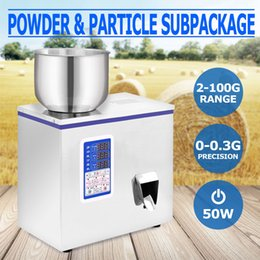 Wholesale 2 g Powder Particle Subpackage Device Automatic Herbs Flour Filling Machine