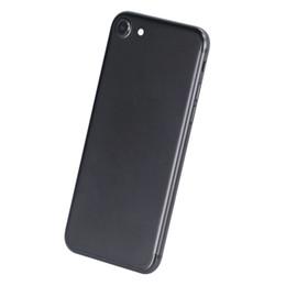 Acheter en ligne Pouces 1gb-NOUVEAU GOOPHONE d'arrivée i7 4.7 inch 1: 1 Android Octa Core 128GB MTK6580 Android 6.0 1GB + 8GB véritable smartphone d'empreinte digitale avec la boîte de joint DHL Free