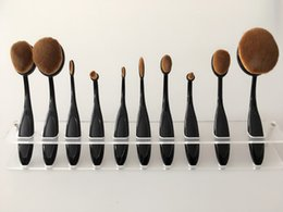 Wholesale Display Holder Stand Exhibition Rack Make Up Brushes Drying Shelf for Artis Toothbrush Makeup Brushes Tool