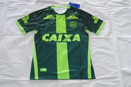Wholesale Customized Chapecoense Home Away rd Soccer Jerseys Best Quality Discount Cheaper Chapecoens FORCACHAPE Soccer Jersey Football Jerseys
