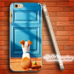 Coque Max Russell Terrier Soft Clear TPU Case for iPhone 6 6S 7 Plus 5S SE 5 5C 4S 4 Case Silicone Cover.