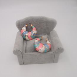 Wholesale Xuping Moda Venta al por mayor Cristales Pendientes Para Mujeres De Swarovski Platino Plated Joyería Encanto Diseño Regalo E012