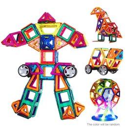 Wholesale Magnetic Toy Pieces Plastic Building Blocks D Blocks Building Kits DIY Kids Toys Educational Model T269