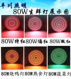 Acheter en ligne Led grow bleu ampoule-LED Grow Light 80W AC85-265V E27 Rouge / Bleu pour système de culture hydroponique ampoule LED LED lampe de croissance