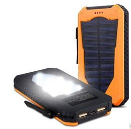 Land rover camp lamp solar mobile power source 20,000 millian solar power charging treasure