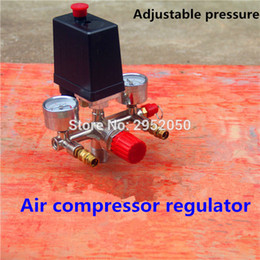 Wholesale Air compressor parts Bama bracket regulator wind air compressor bracket with gauge pressure switch valve safety valve