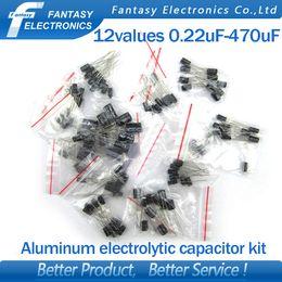 Wholesale valuesX10pcs UF UF Aluminum electrolytic capacitor component diy assortment kit new and original