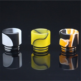 Wholesale Wide Bore Mouthpiece Epoxy Resin Drip Tip for Battle AV Kennedy TFV8 Limitless RDTA