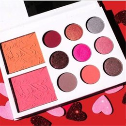 Wholesale Pre sell Kylie Cosmetics Valentines Collection Kylies Diary Valentine Eyeshadow Blush Kylie Jenner Collection Set from idea