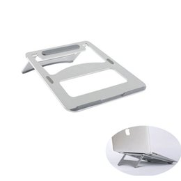 High Quality Metal Aluminium Laptop Stand Portable Notebook Computer Stand Laptop Cooling Stand for Macbook Ipad