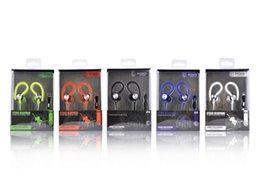 Los auriculares universales del gancho del oído JY-A1 con el micrófono se divierten en-oído bajo fuerte de la música del receptor de cabeza de los deportes para el teléfono móvil del mp3 del teléfono móvil del iphone Samsung desde bajo plano fabricantes