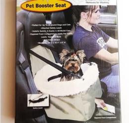 2016 чехлы собаки сиденье Бесплатная доставка !!! Водонепроницаемый собак Pet Cat Carrier автомобилей хранения сумка Pet Booster чехол для сиденья Trave безопасности Карри Корзина бюджет чехлы собаки сиденье